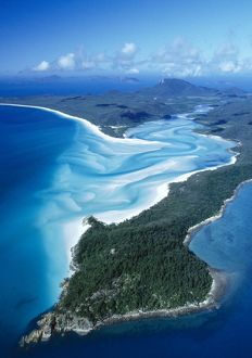 Australia - Tongue Pt. Hill inlet, Whithaven Beach,