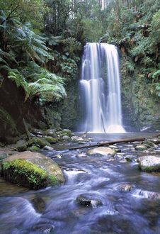 landscapes/australia waterfall otway national park southern