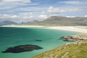 Bay in Sound of Taransay - Harris - Outer Hebrides - Scotland