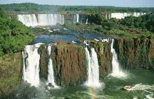 BRAZIL / Argentina - Iguazu Falls, viewed from Brazil