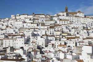 Brilliantly whitewashed houses in Alcala de los Gazules