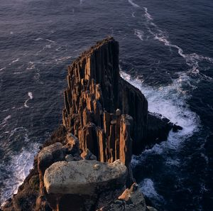 Cape Raoul in early morning, guardian to the entrance