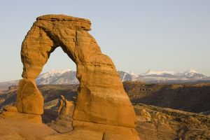 landscapes/delicate arch probably famous sandstone rock sculpture