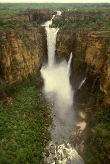 Jim Jim Falls.wet season. Kakadu National Park