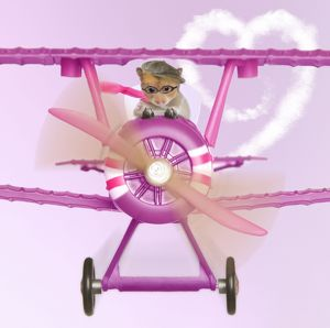 LA-4474-M1 Hamster - flying aeroplane