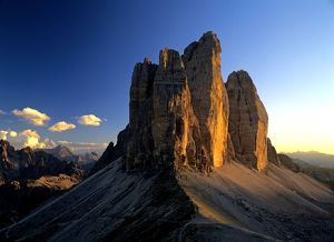 landscapes/pinnacles tre cime di lavoro view patern saddle
