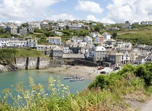 Port Isaac Harbour (known as Port Wenn, the home of Doc Martin )