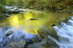 landscapes/river watersmeet autumn colours reflected wild