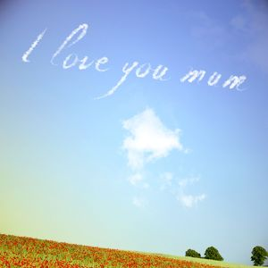 Sky Writing - I love you mum